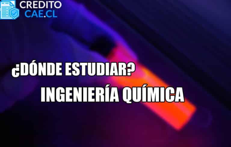 donde estudiar ingeniería química