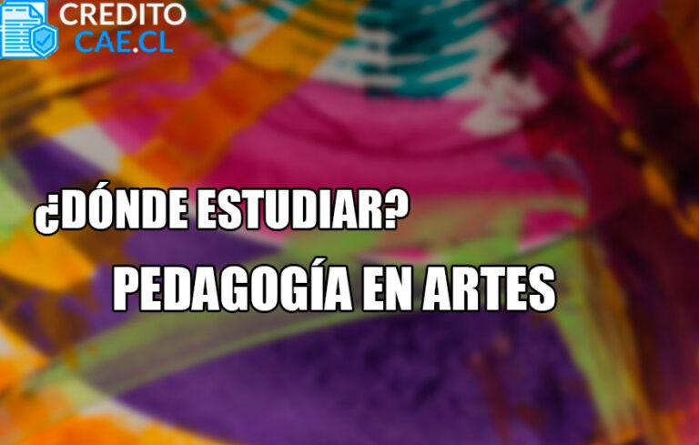 donde estudiar pedagogía en artes