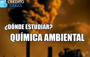donde estudiar química ambiental
