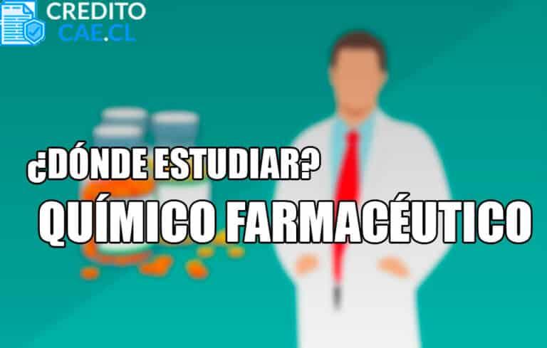 donde estudiar químico farmacéutico