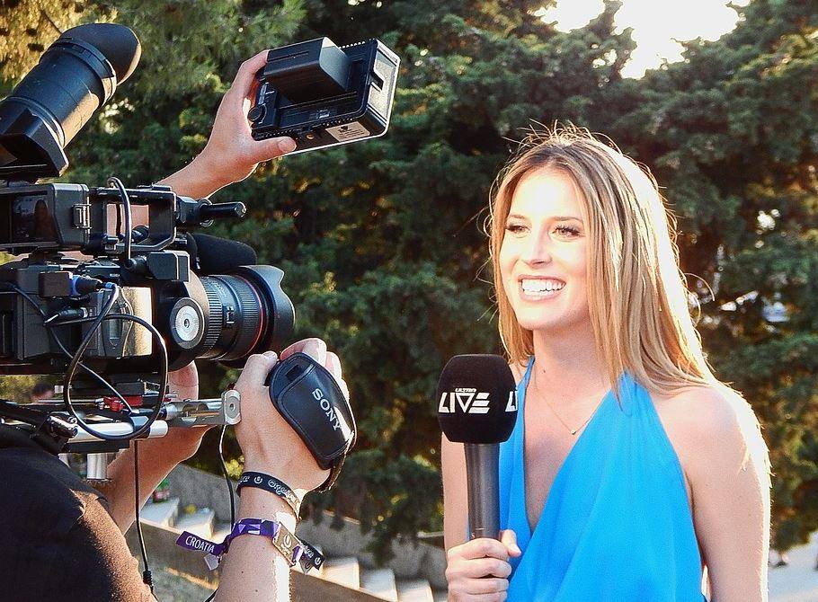 periodista profesión